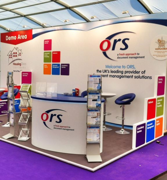 Marketing Exhibition Stand Example : Exhibition stand build ideal displays